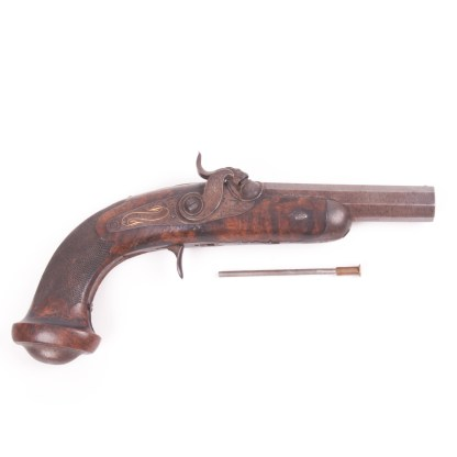 Antique French Percussion Pistol