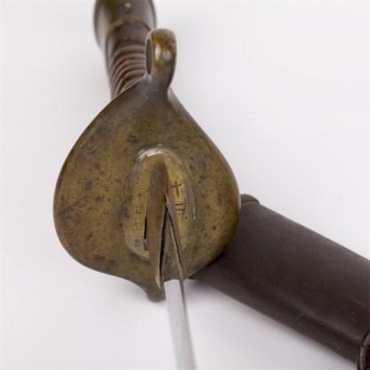 Japanese navy infantry lower officer early model sword.