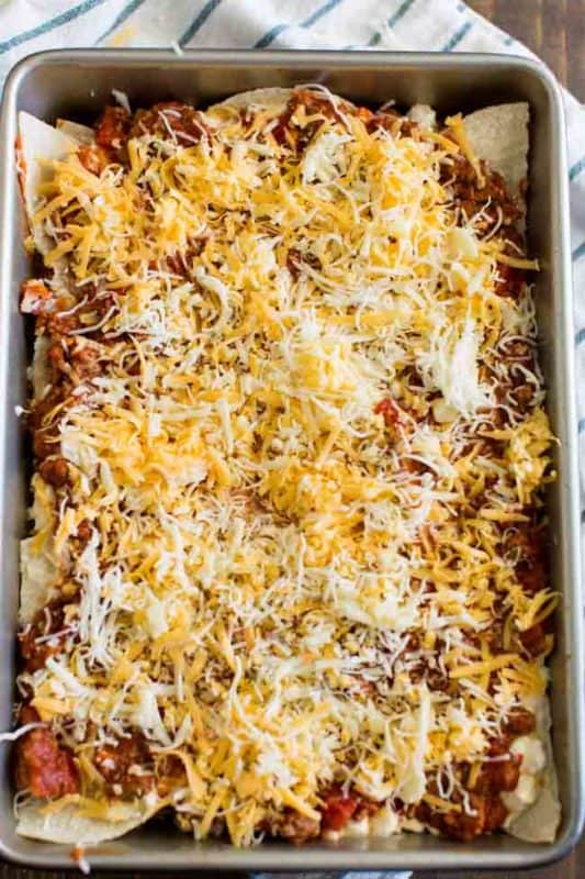 HOW TO BAKE MEXICAN LASAGNA