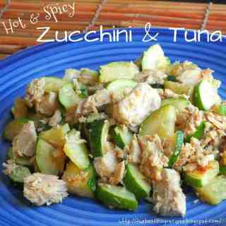 Healthy Zucchini and Tuna!