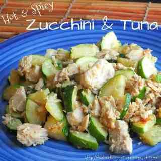 Healthy Zucchini and Tuna!