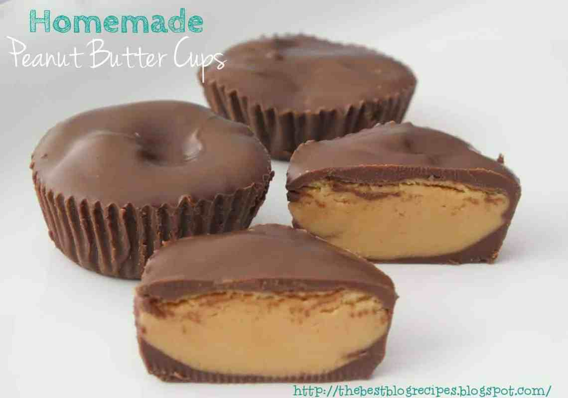Homemade Peanut Butter Cups - The Best Blog Recipes