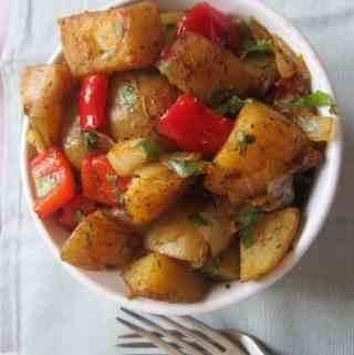 Spicy Roast Potatoes