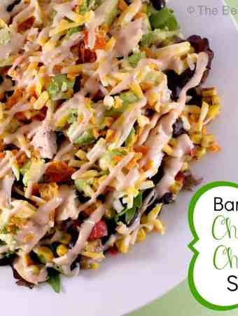 Barbecue Chopped Chicken Salad