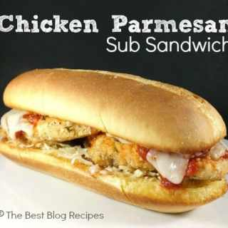Chicken Parmesan Sub Sandwich