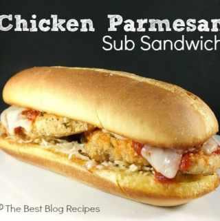 Chicken Parmesan Sub Sandwich