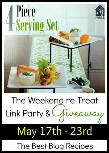 The Weekend re-Treat Link Party & Giveaway