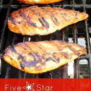 Five Star Grilled Teriyaki Chicken