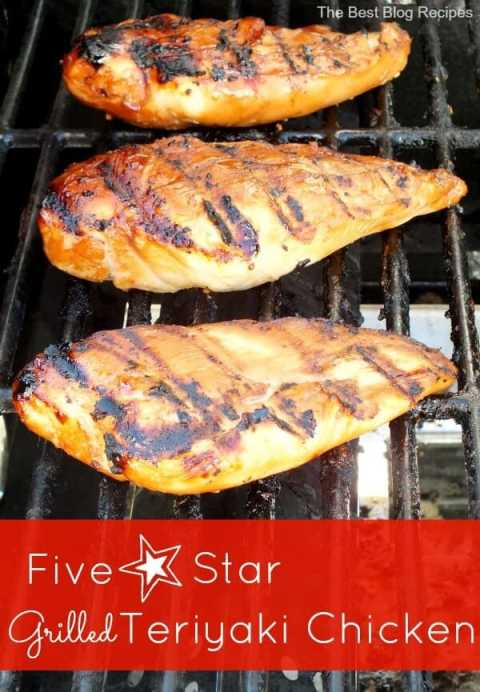 Five Star Teriyaki Chicken recipe from The Best Blog Recipes