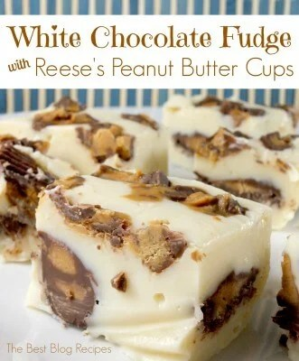 White Chocolate Fudge Reese's Peanut Butter Cups