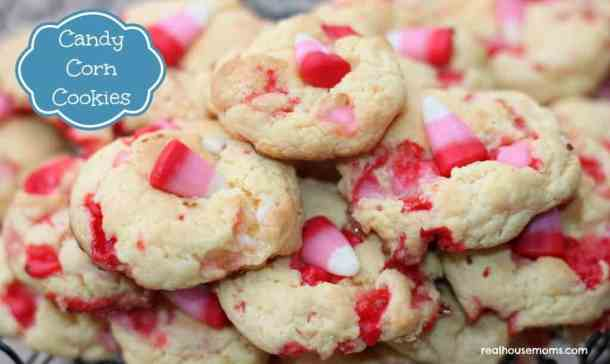 Candy Corn Cookies -- Part of the Best Valentine's Day Cookies