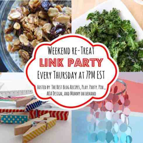 The Weekend re-Treat Link Party  #59