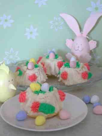 Lemon Baskets for Easter