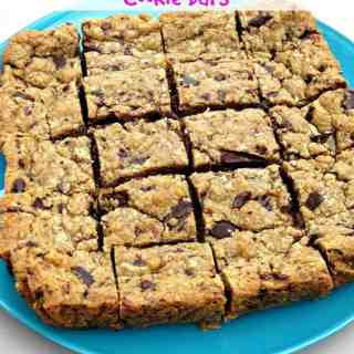 Peanut Butter Chocolate Chunk Cookie Bars
