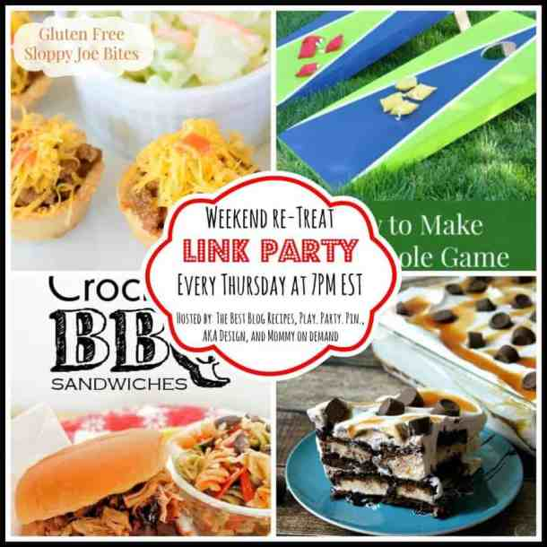 The Weekend re-Treat Link Party #77