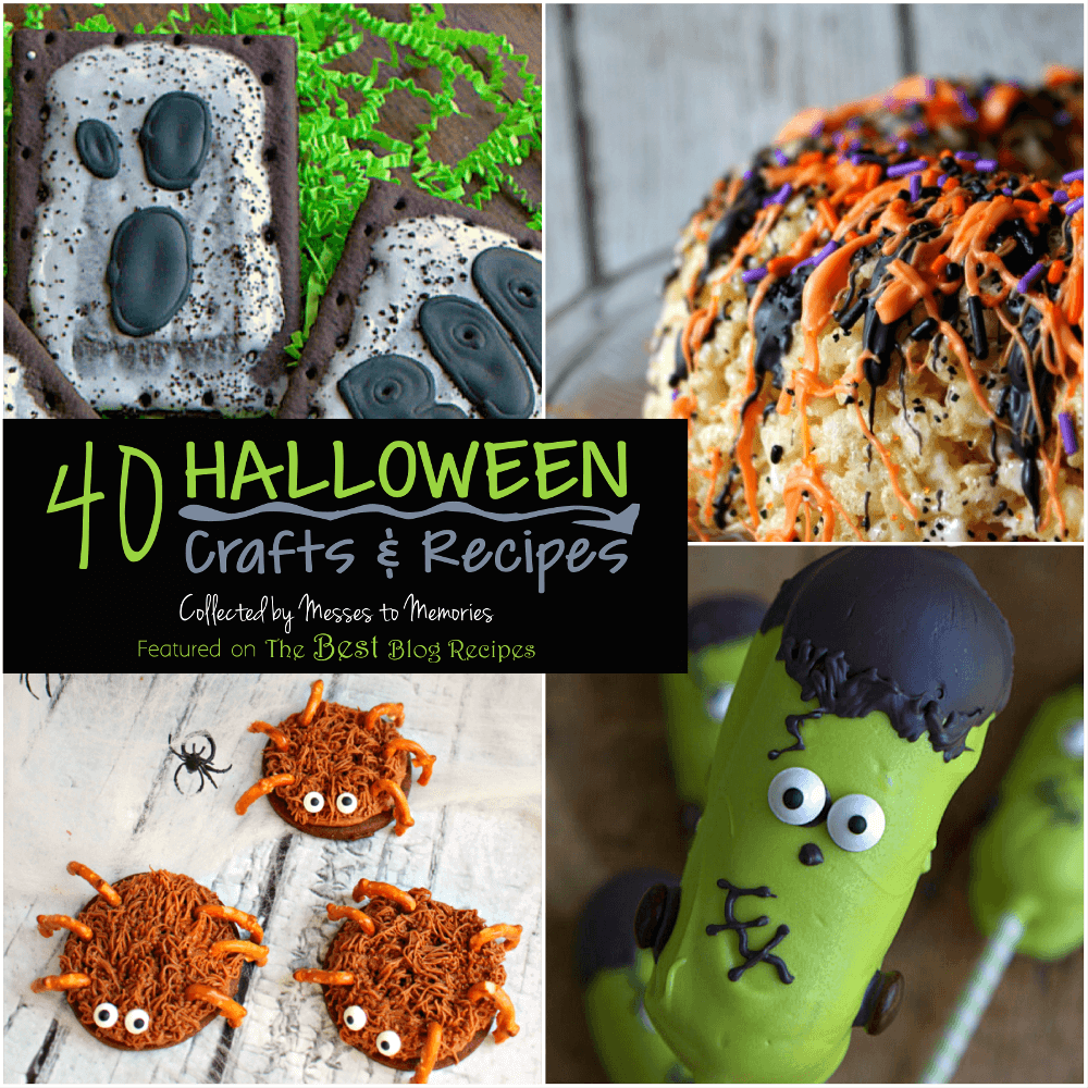 40 Halloween Crafts and Recipes for the whole family