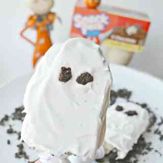 Halloween Snack Pack Pudding Ghosts