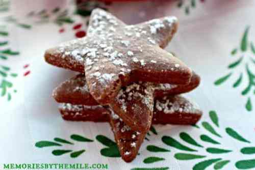 Cocoa Star Cookies featured on 26 Christmas Recipes from The Best Blog Recipes