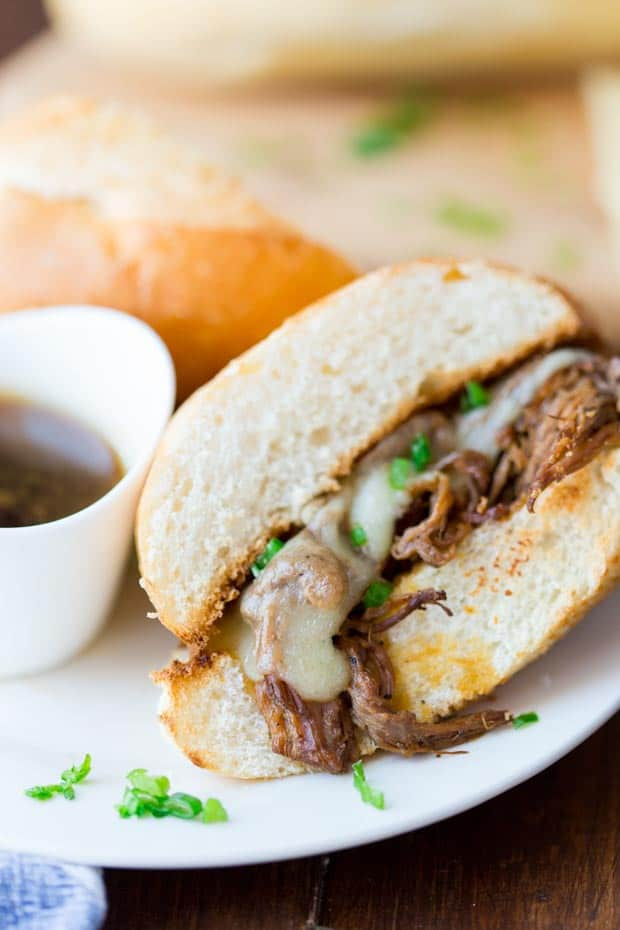 Slow Cooker French Dip Sandwich Recipe