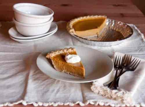 The Best Pumpkin Pie featured on 26 Christmas Recipes from The Best Blog Recipes