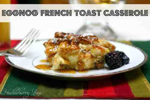 Eggnog French Toast featured on 26 Christmas Recipes from The Best Blog Recipes