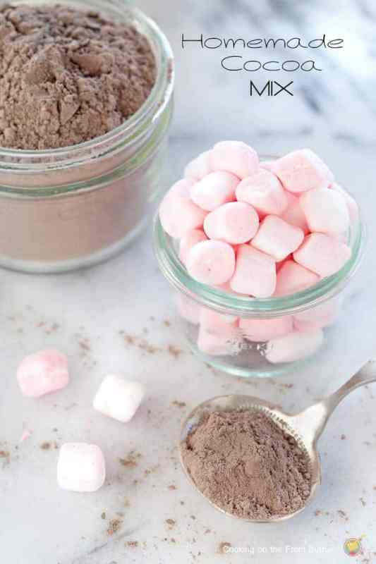 Homemade Hot Cocoa featured on 30 Valentine's Day Recipes from The Best Blog Recipes