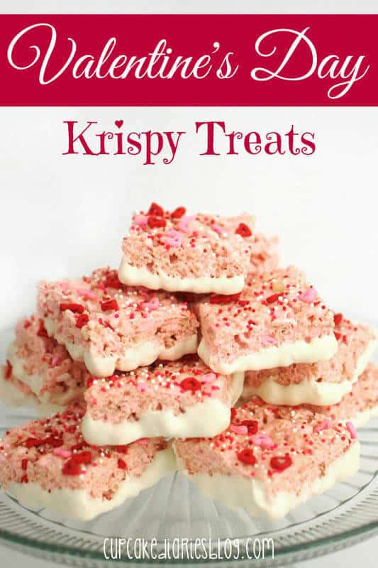 Valentine's Krispy Treats featured on 30 Valentine's Day Recipes from The Best Blog Recipes