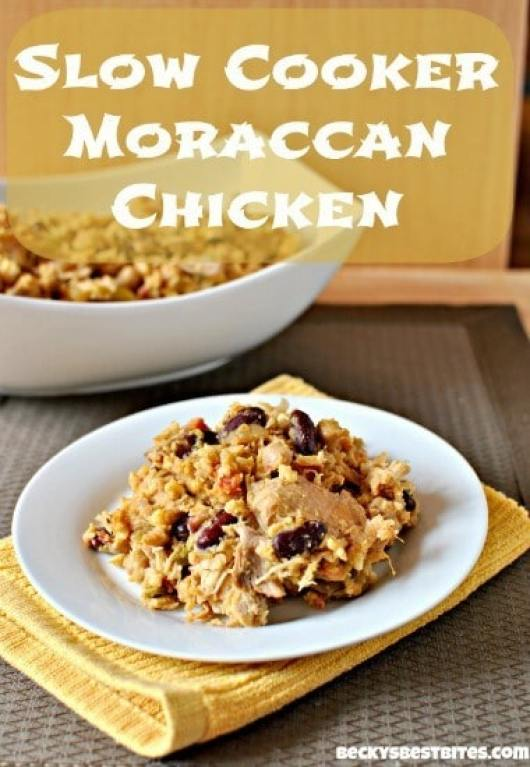 Moroccan Chicken featured on 45 Healthier Recipes from The Best Blog Recipes