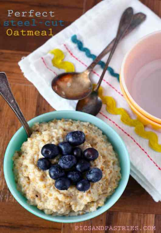 Steel Cut Oatmeal featured on 45 Healthier Recipes from The Best Blog Recipes