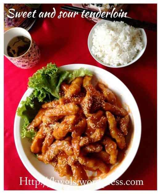 Sweet and Sour Pork Strips