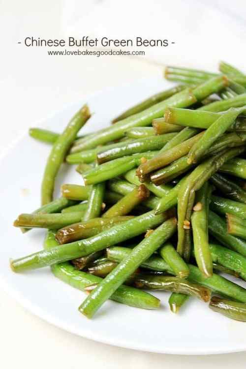 Chinese Green Beans featured on 21 of the Best Chinese Recipes from The Best Blog Recipes