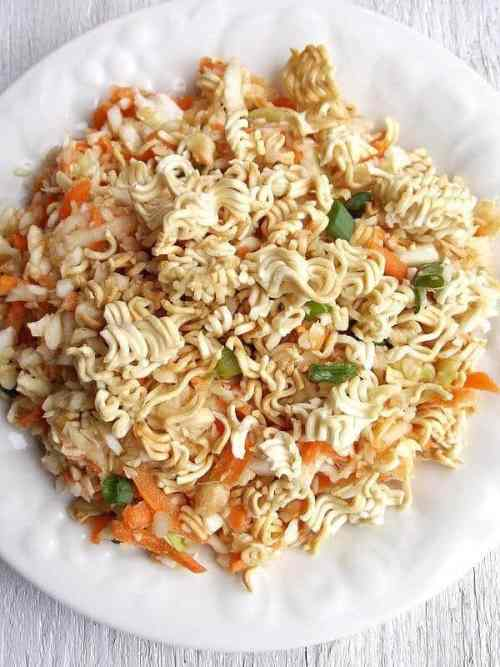 Crunchy Asian Slaw featured on 21 of the Best Chinese Recipes from The Best Blog Recipes