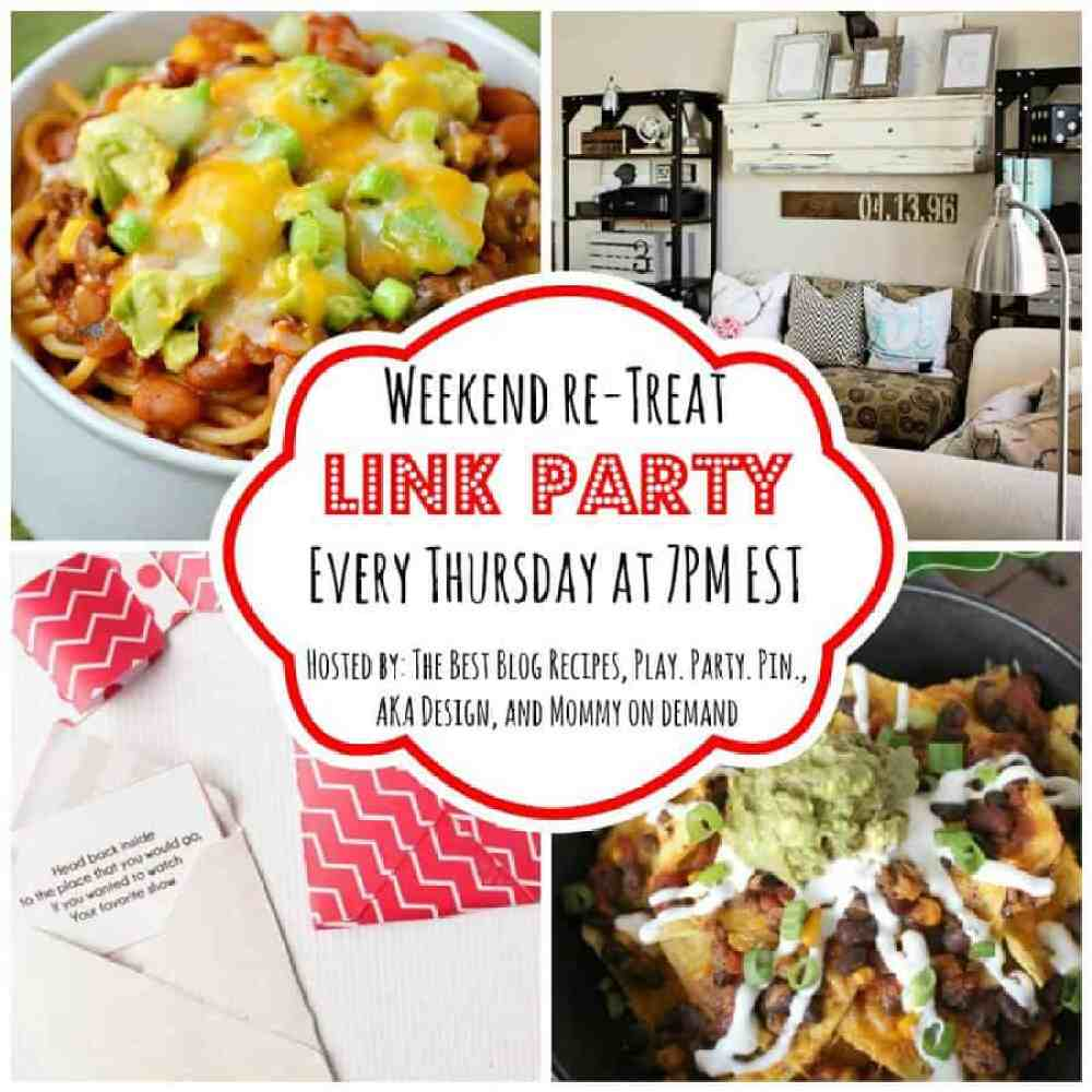 The Weekend re-Treat Link Party #112