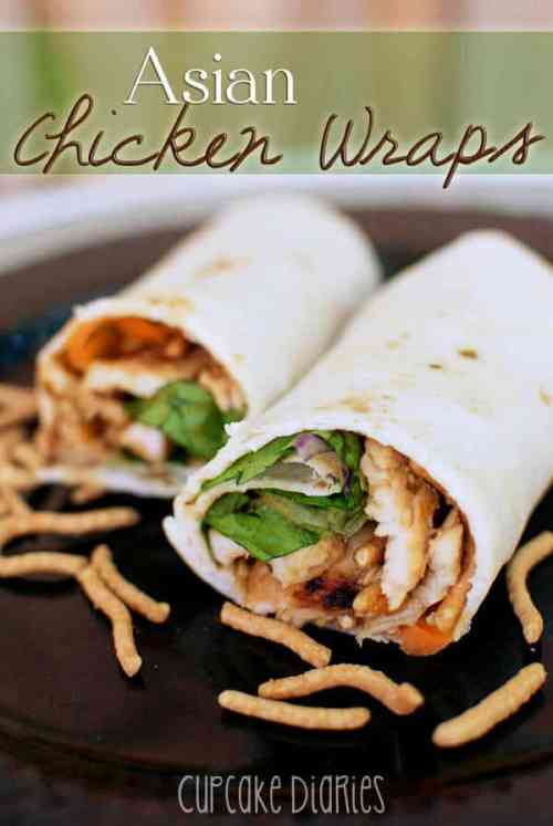 Asian Chicken Wraps featured on 21 of the Best Chinese Recipes from The Best Blog Recipes