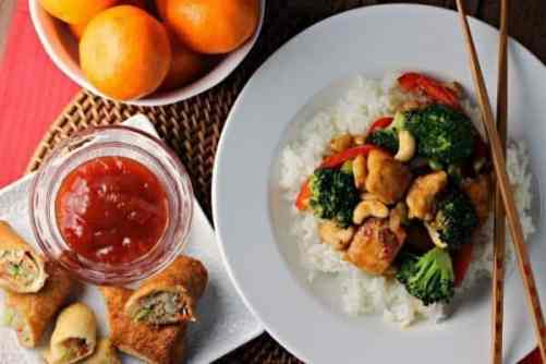 Cashew Chicken featured on 21 of the Best Chinese Recipes from The Best Blog Recipes