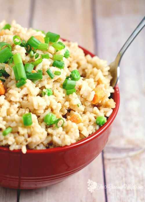 Garlic Fried Rice featured on 21 of the Best Chinese Recipes from The Best Blog Recipes