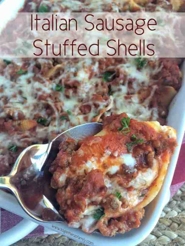 Processed with Snapseed.--Part of The Best Pull Stuffed Shells Recipes