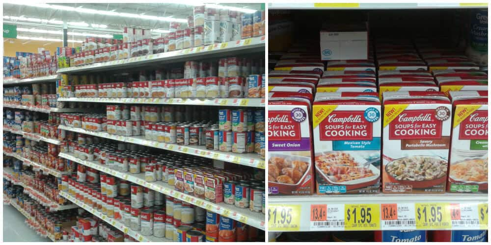 Campbell's Soups for Easy Cooking from Walmart #Ad #WeekNightHero #cbias