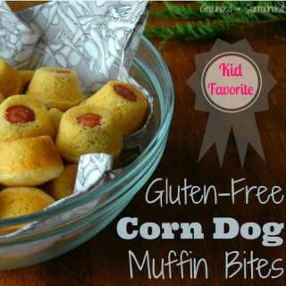 Gluten-Free Corn Dog Muffin Bites