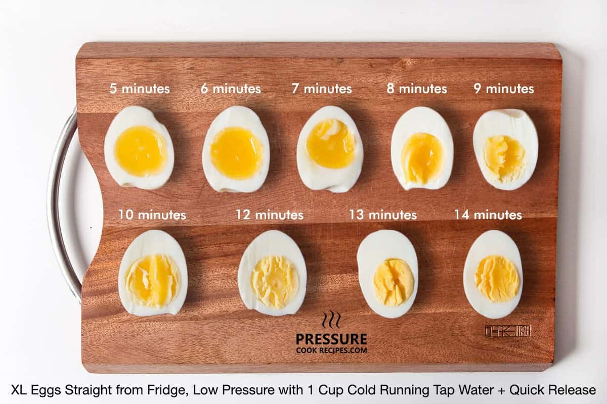 """Want to makepressure cooker hard boiled eggsor aperfect soft boiled egg, but not getting the results you want? You've come to the right place! We're taking the guesswork out of making theperfectpressure cooker eggs with our """"eggsperiment"""". ?"""