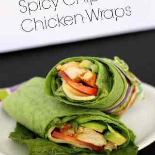 Spicy Chipotle Chicken Wraps