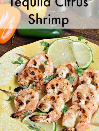 Tequila Citrus Shrimp Kebabs