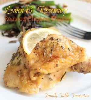 This Lemon and Rosemary Chicken Thighs recipe is a delicious way to ...