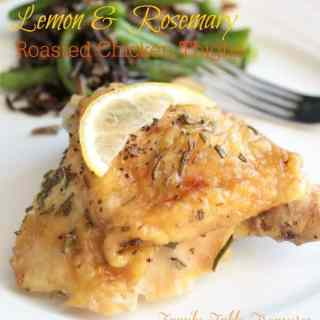 Lemon and Rosemary Roasted Chicken Thighs