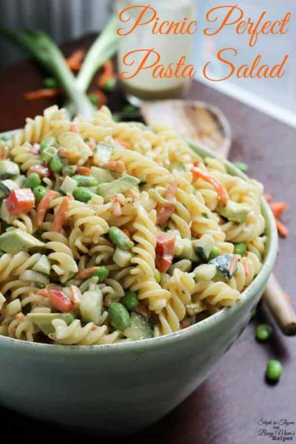 Picnic Perfect Pasta Salad -- part of The Best Picnic and Potluck Recipes