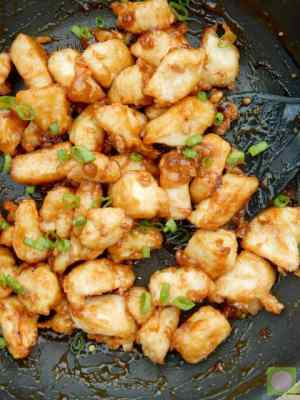 Crispy Orange Chicken -- It's crispy, sweet, crunchy and full of flavor.