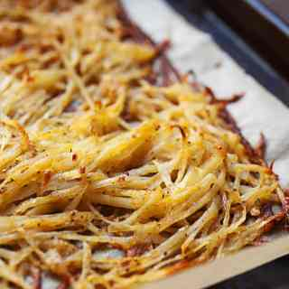 Sheet Pan Hash Browns