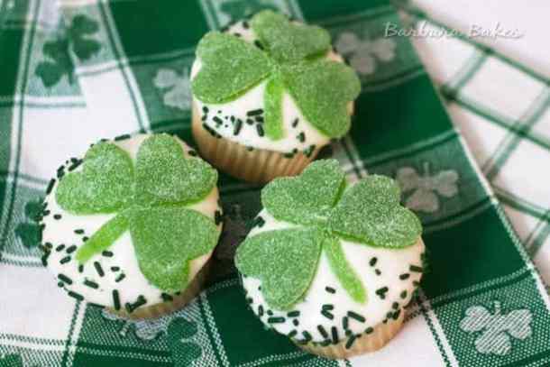 Lemon Shamrock Cupcakes -- Part of The Best St. Patrick's Day Recipe