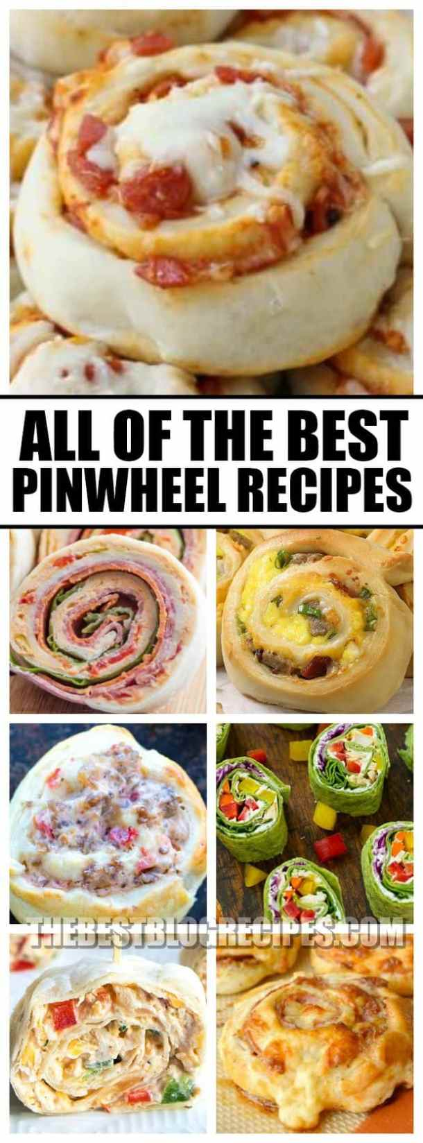 The Best Pinwheel Recipes