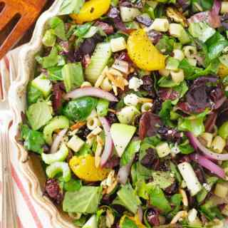 Crunchy Apple Almond Orange Poppy Seed Salad